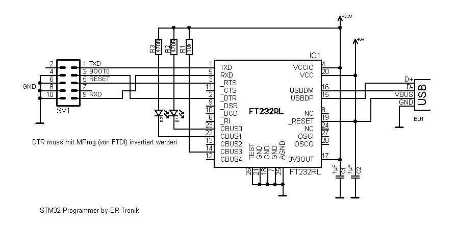 PC Anbindung via USB-Konverter