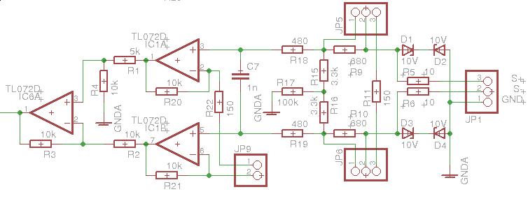 Schaltungsentwurf: Analog-Audioeingang und ADC - Mikrocontroller.net