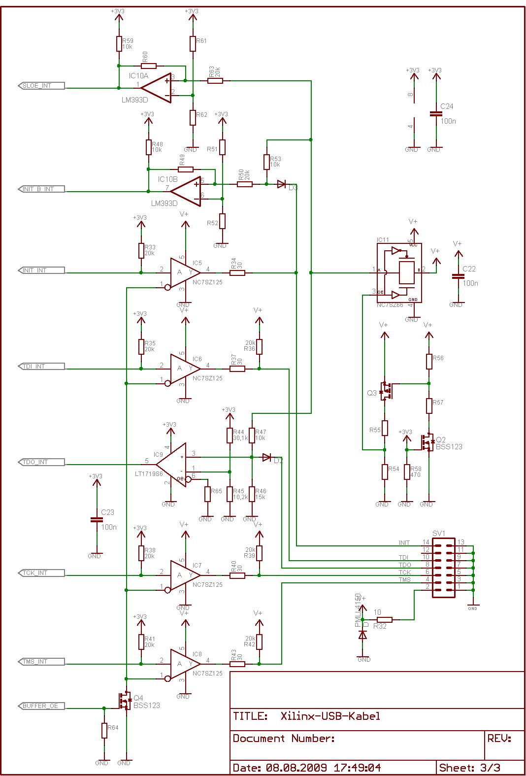Xilinx Usb Schematic Jetzt Verfgbar Digilent Jtag Cable Preview Image For Schaltplan Ein Ausg Nge
