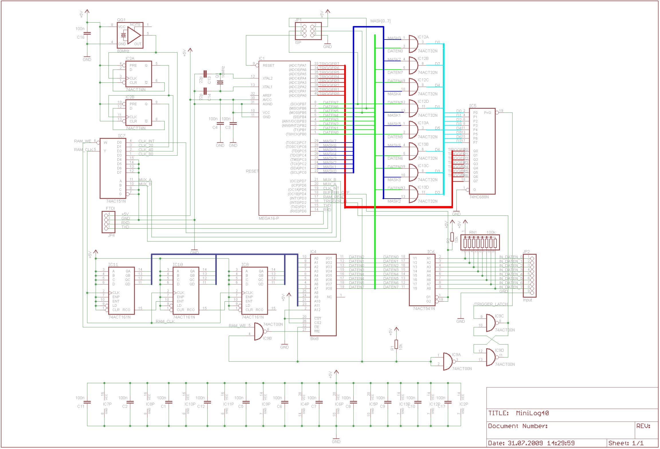 8 Kanal 50Ms/s AVR Logic-Analyzer - Mikrocontroller.net