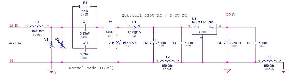 C-Netzteil - Strombelastbarkeit - Mikrocontroller.net