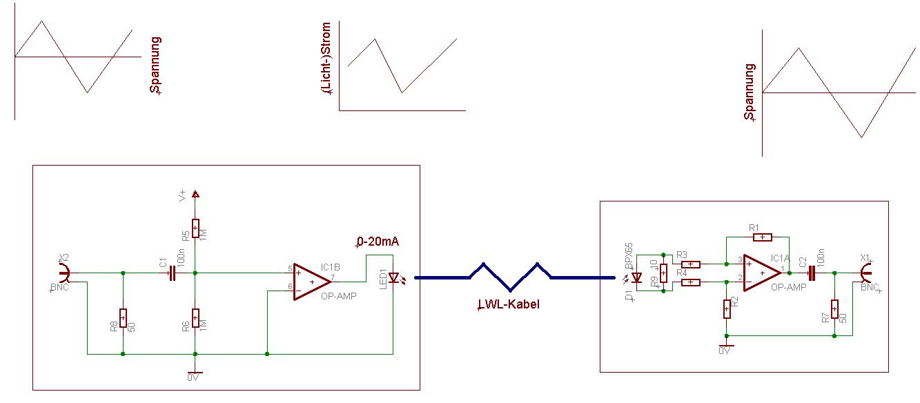 Berühmt Einfacher Lichtleiter Schaltplan Zeitgenössisch ...