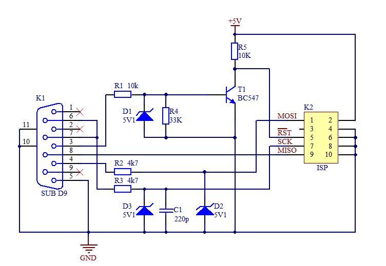 MAX232 Datasheet - ElectroSchematicscom