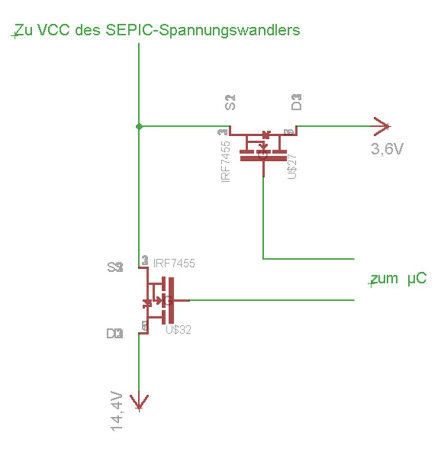 2 Spannungen mit Mosfets schalten - Mikrocontroller.net