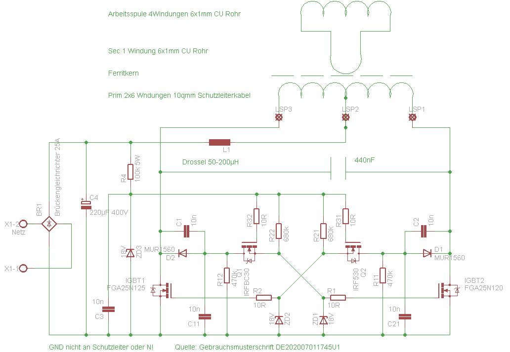 Индукционный нагреватель металла из сварочного инвертора