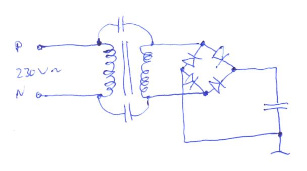 kondensatoren am br ckengleichrichter abgeraucht wieso weshalb warum. Black Bedroom Furniture Sets. Home Design Ideas
