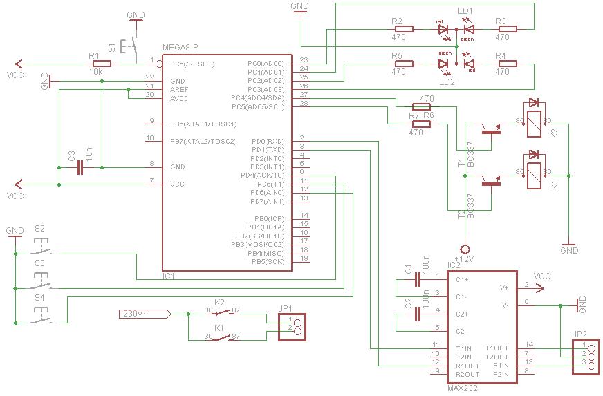 Ziemlich 24vac Relais Schaltplan Bilder - Elektrische Schaltplan ...