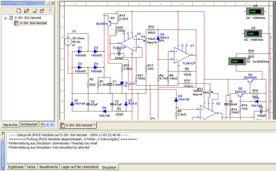 Schaltplan für ordentliches Labornetzteil - Mikrocontroller.net