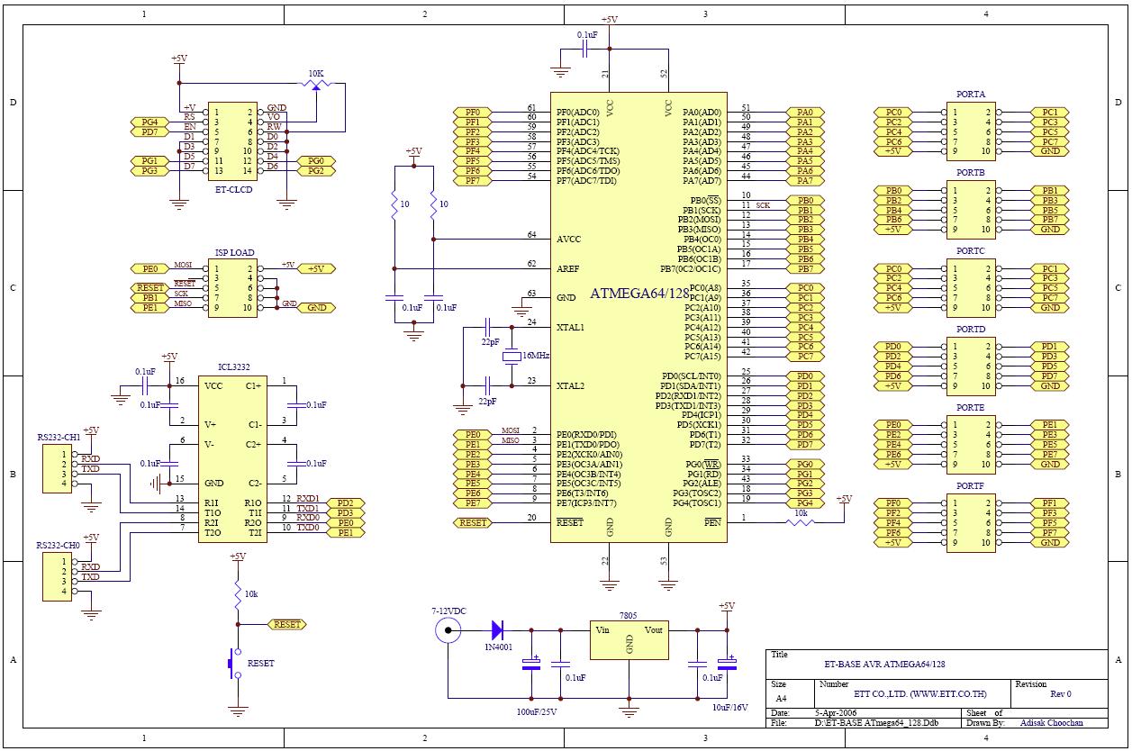 Программатор для atmega128 своими руками 82