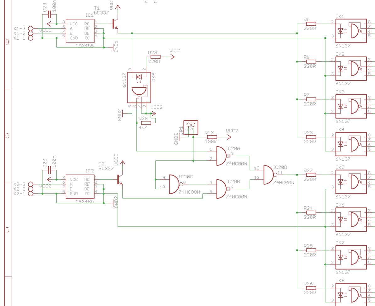 Dmx Splitter Schematic - Circuit Connection Diagram •
