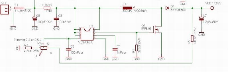 Mc34063 Mit Oder Ohne Mosfet Mikrocontroller Net