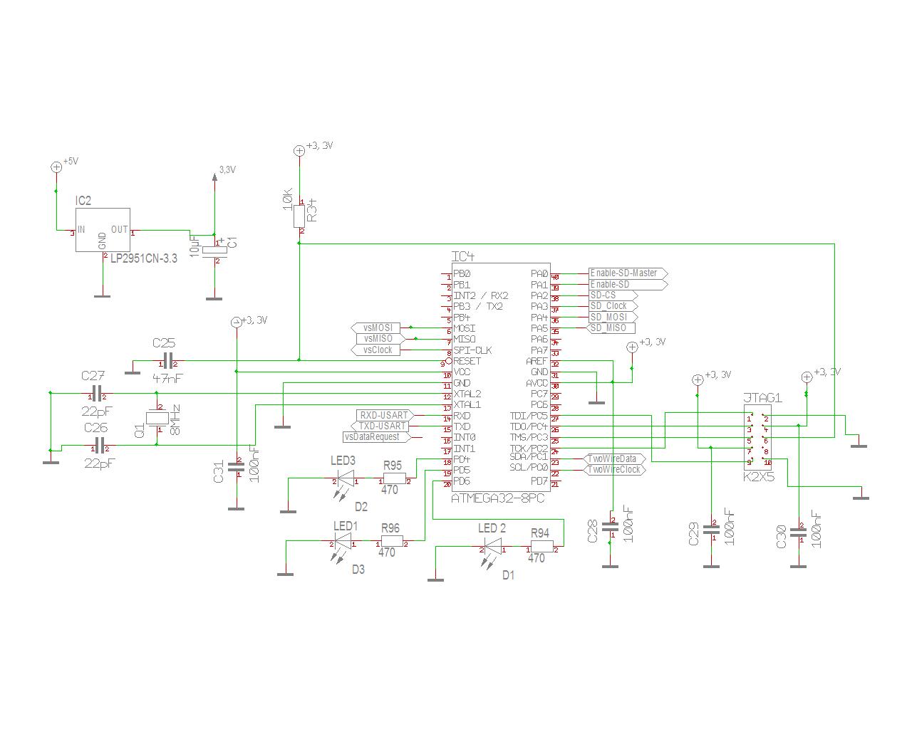 MP3 Player Schaltplan zum Review - Mikrocontroller.net