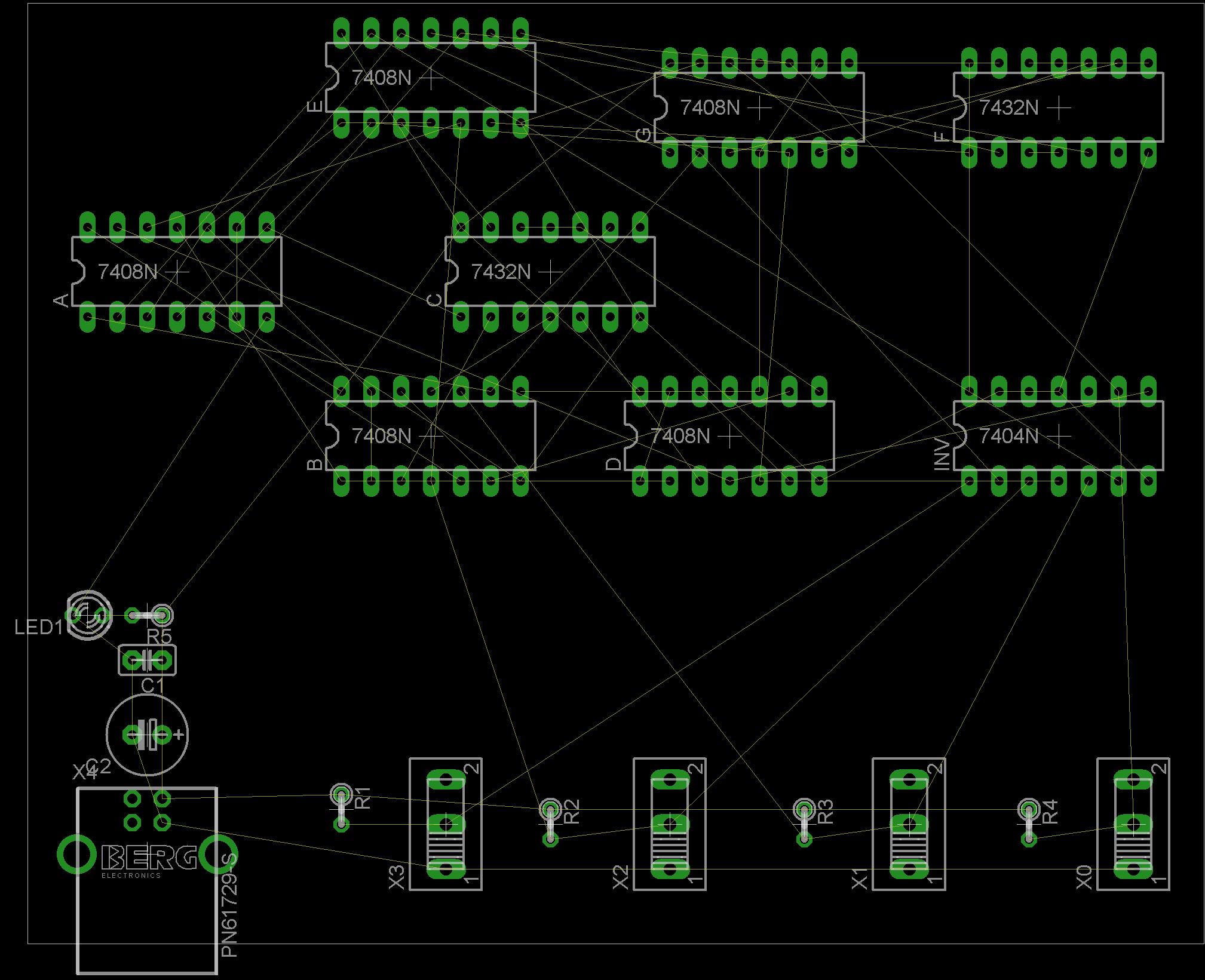 Problem bei der richtigen Verdrahtung in Eagle - Mikrocontroller.net