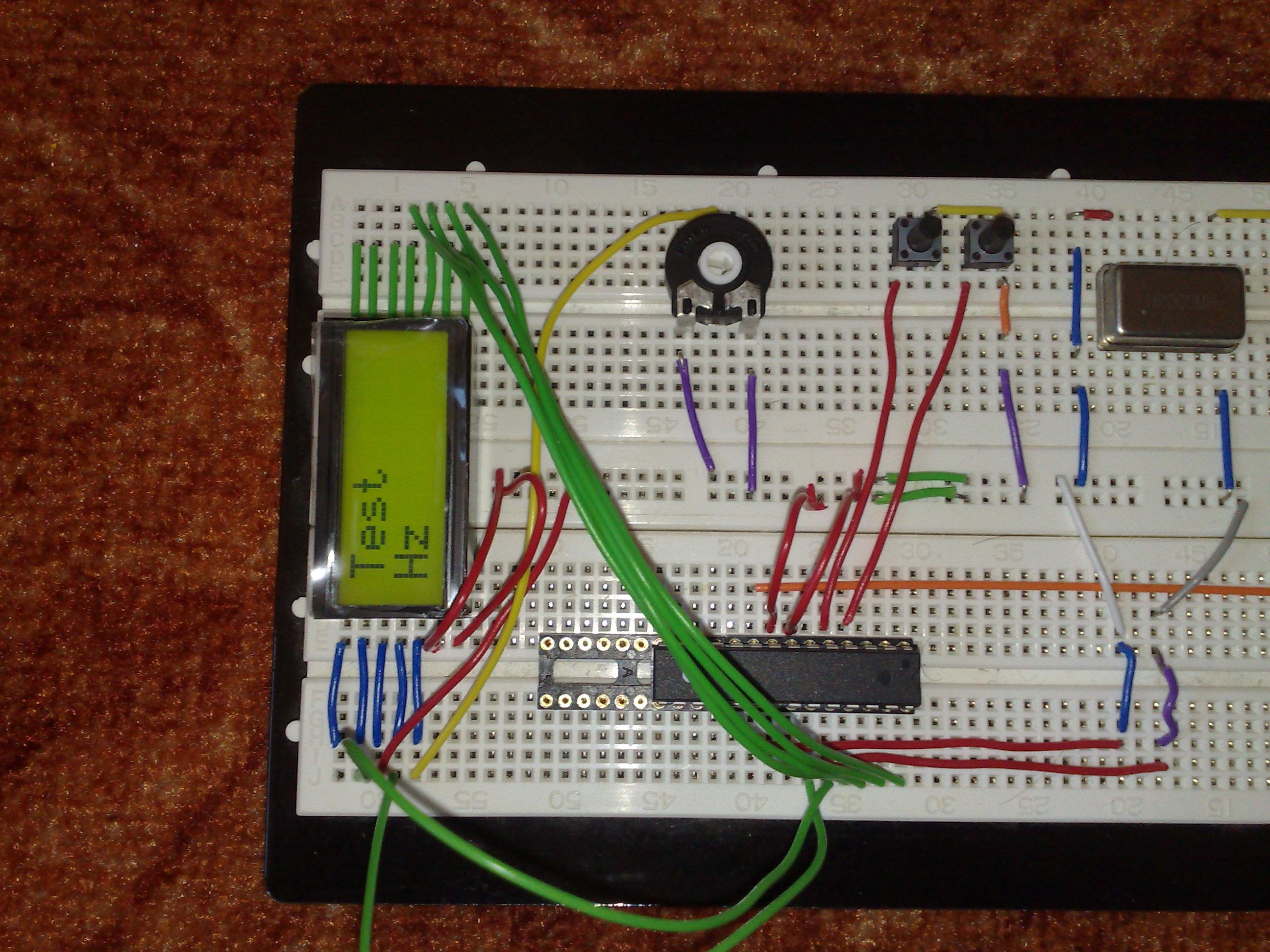 Einstellbarer Frequenzgenerator für 0.12 Hz - 8 MHz mit Atmega 8 und ...