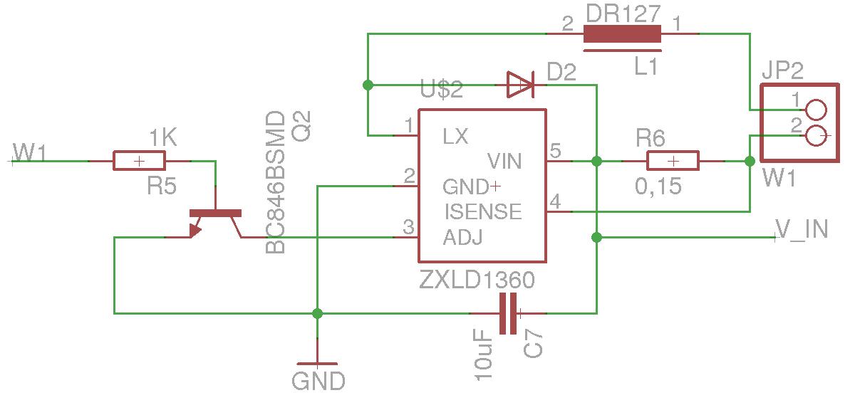 zxld1360: welche werte für Spule und Diode - Mikrocontroller.net