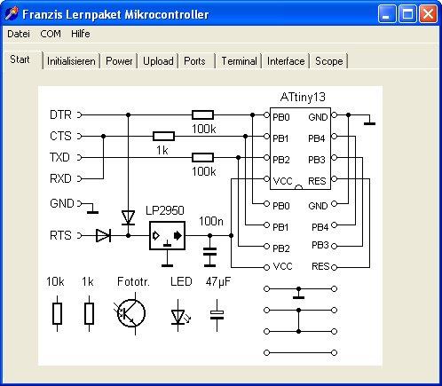 Programmieren der AVR RISC Mikrocontroller mit BASCOM-AVR ...