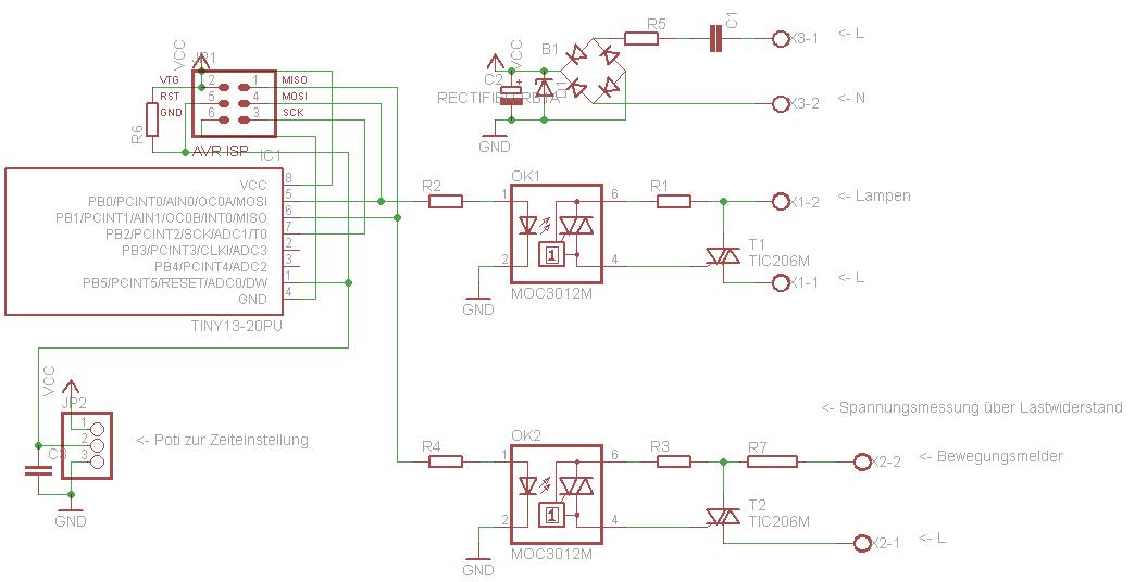 Treppenhauslicht - Mikrocontroller.net