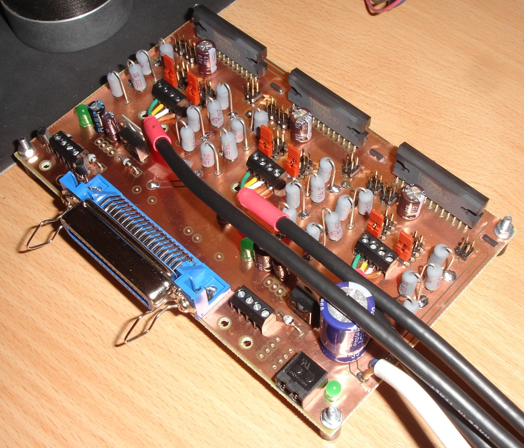 TB6560HQ wird ohne Last warm - Mikrocontroller.net