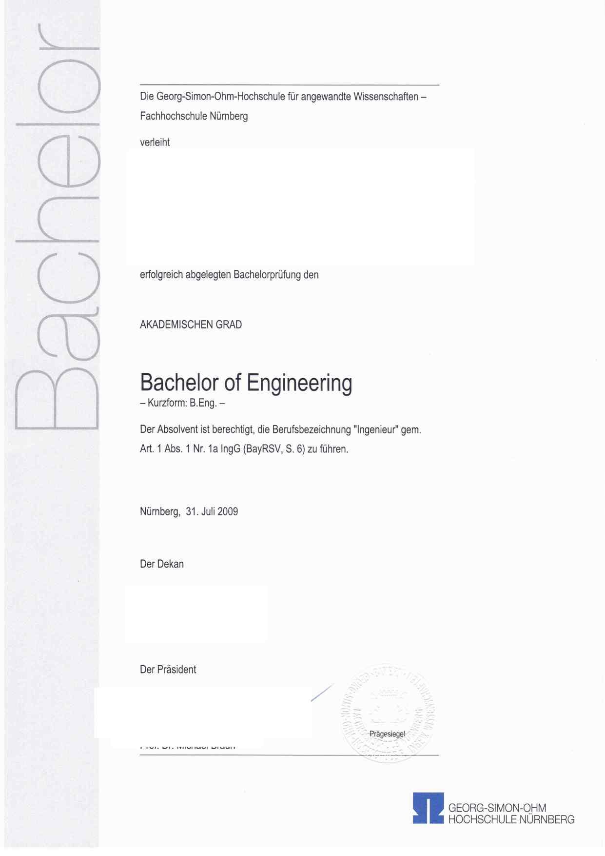 Ingenieur Trotz Bachelor Mikrocontroller Net