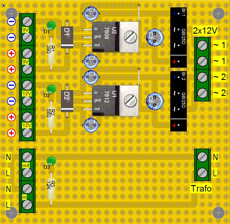 Gleichrichtung und Spannungsregler - Mikrocontroller.net