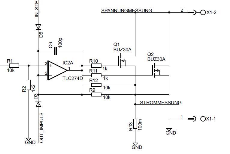 Elektronische Last mit 2 MOSFETs - Mikrocontroller.net
