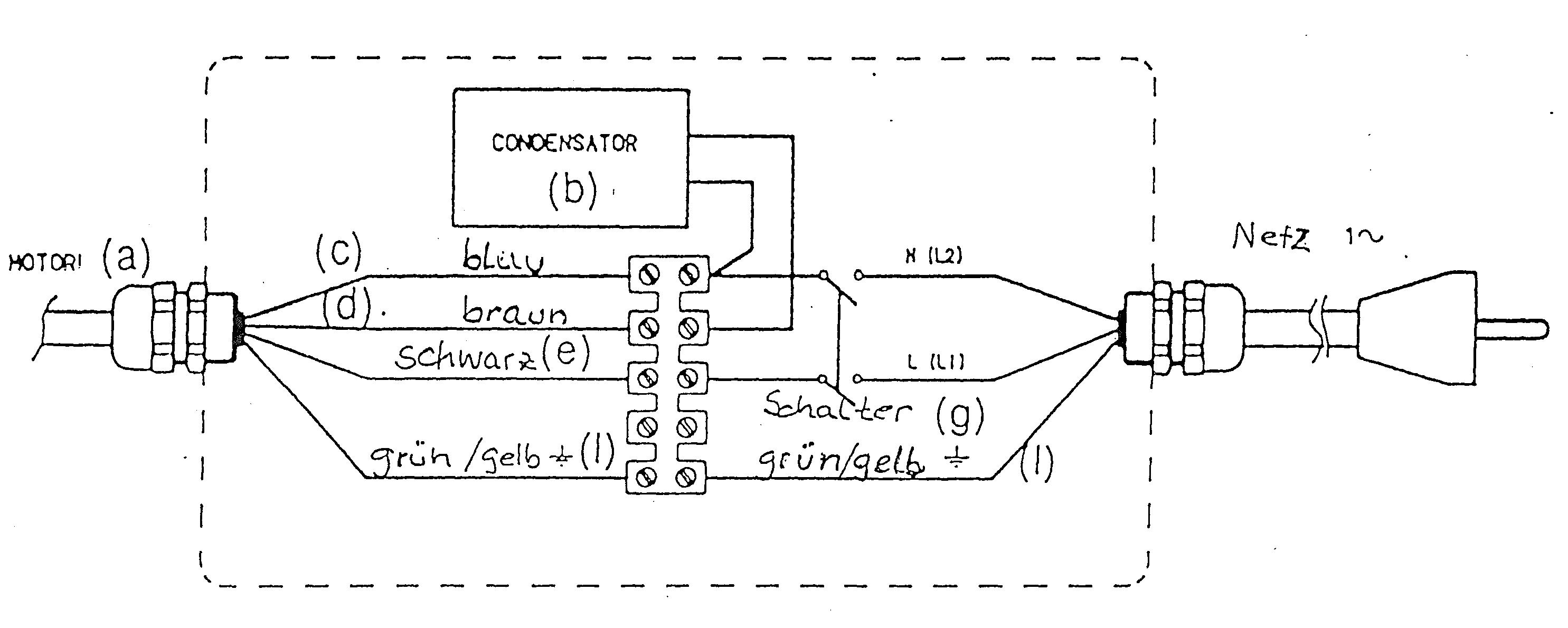 Motor mit Kondensator ?? - Mikrocontroller.net