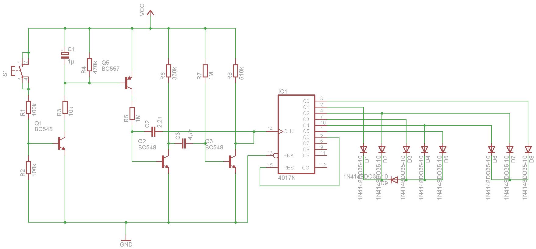 Fantastisch Elektronische Würfelschaltung Ideen - Elektrische ...