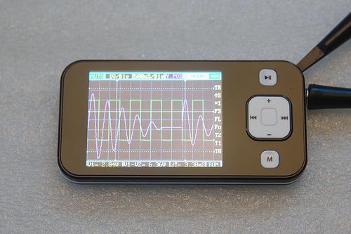 A portable-Oscilloscope base on STM32 (OPENSOURCE) - Mikrocontroller net