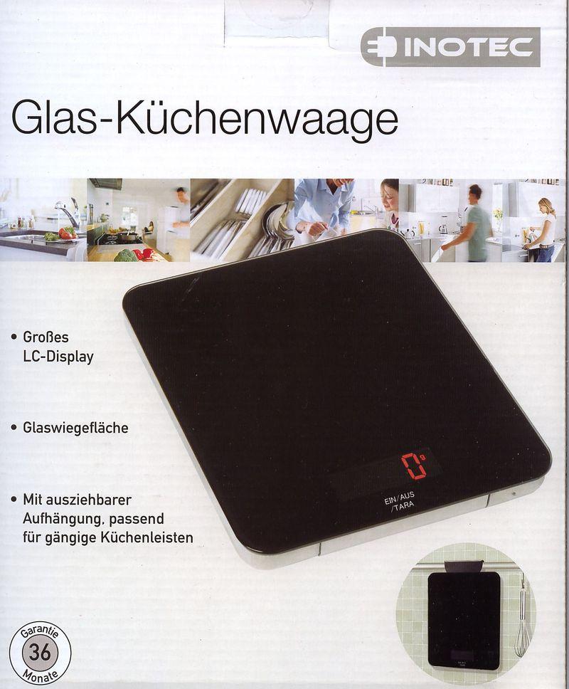Glas k chenwaage vom aldi - Glas handtuchhalter aldi ...