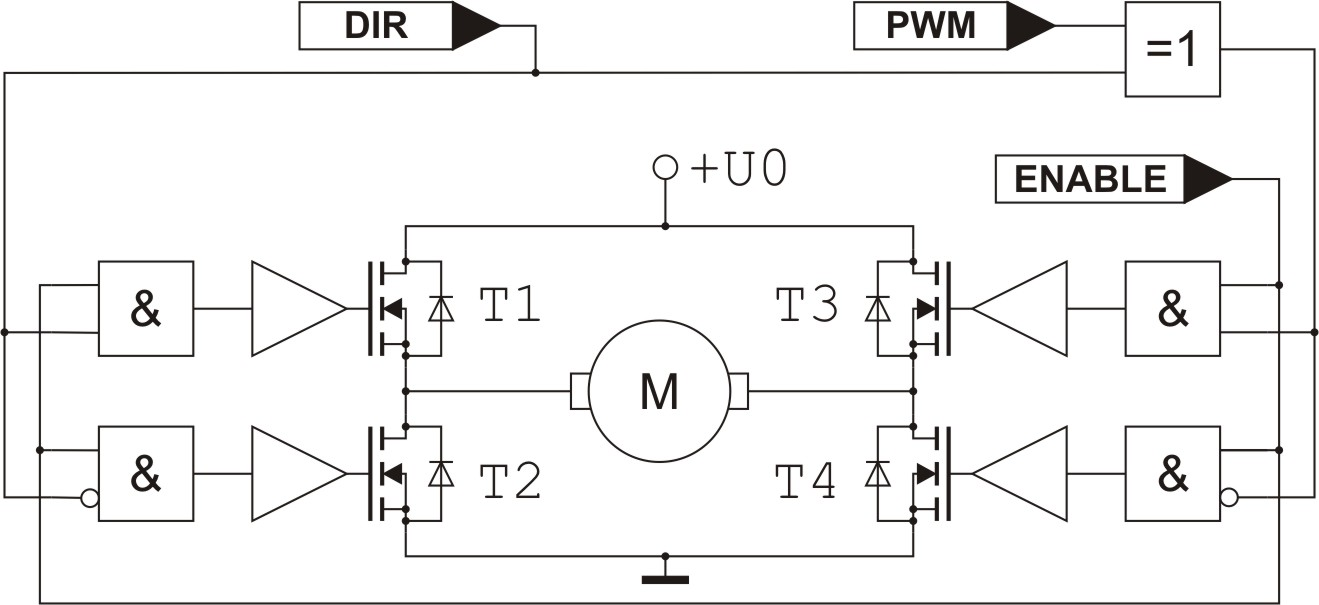 Schaltplan Pwm on Arduino Bipolar Stepper Motor Circuit