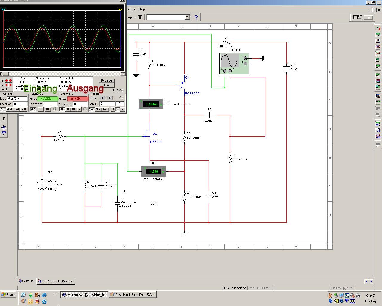 DCF77 Demodulator selbst bauen - Mikrocontroller.net
