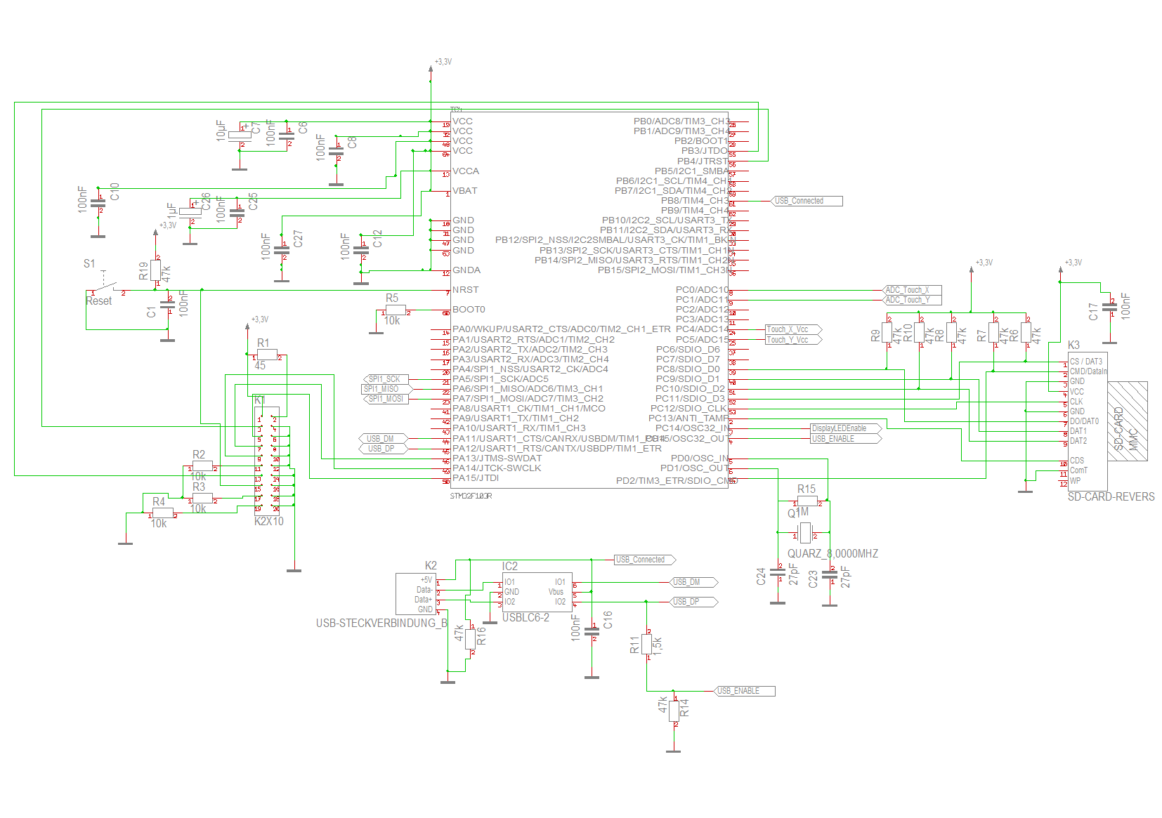 problem jtag beim stm32f103