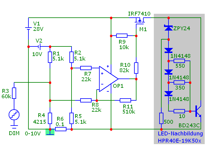 Linear-Dimmer für High-Power-LEDs!? - Mikrocontroller.net