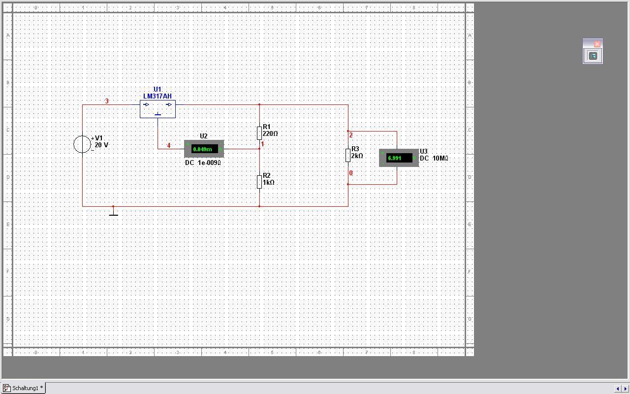 Schaltung mit Spannungsregler Berechnung - Mikrocontroller.net