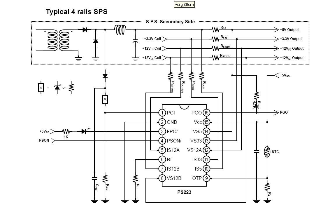 Ausgezeichnet Atx Schaltnetzteil Galerie - Elektrische Schaltplan ...