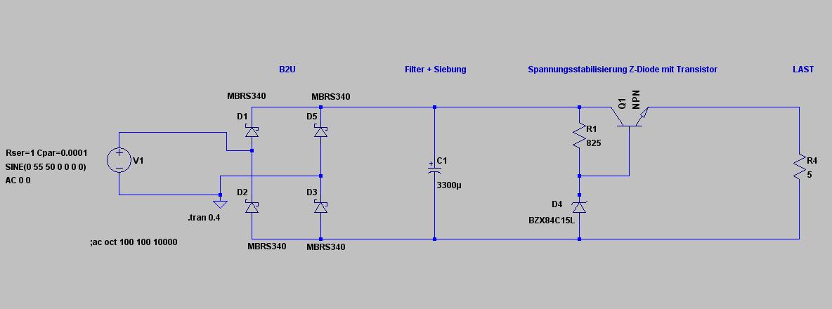 Gleichrichter mit Spannungsregler für hohe Leistung ...