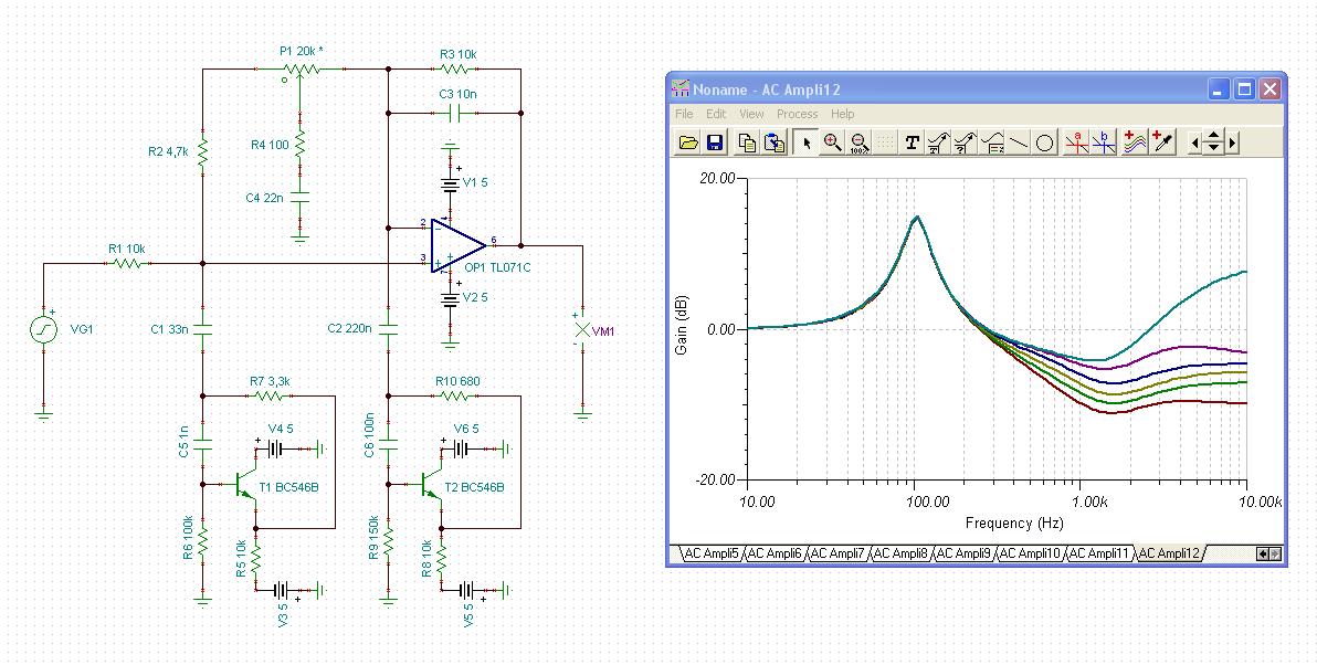 Schaltplan erklären - Effektgerät - Mikrocontroller.net