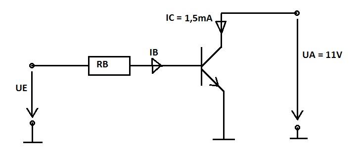 transistor als schalter - richtig gerechnet