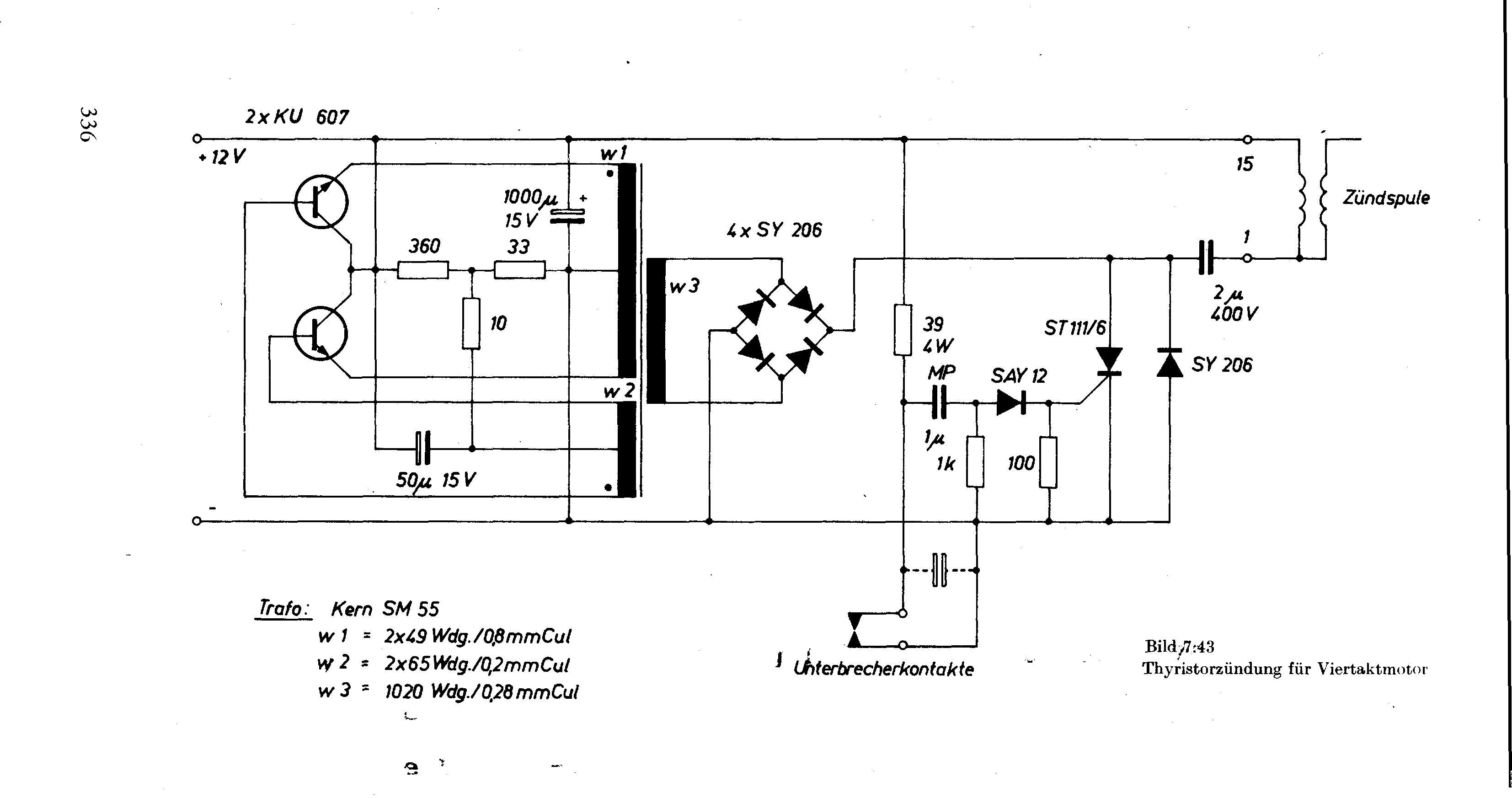 Transistor für Zündanlage - Mikrocontroller.net