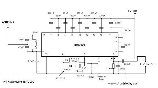 radio mit tda7000 handempfindlich. Black Bedroom Furniture Sets. Home Design Ideas