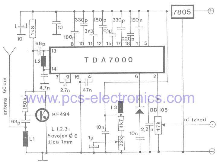 Tda Rx on Am Fm Radio Receiver Circuit Diagram