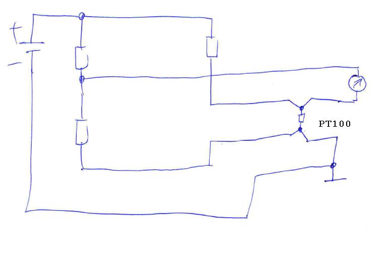pt100 me br cke. Black Bedroom Furniture Sets. Home Design Ideas