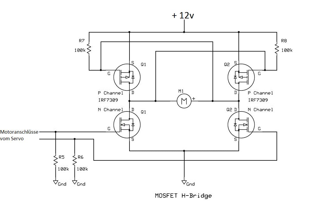 rc-servo motor wechsel - Mikrocontroller.net