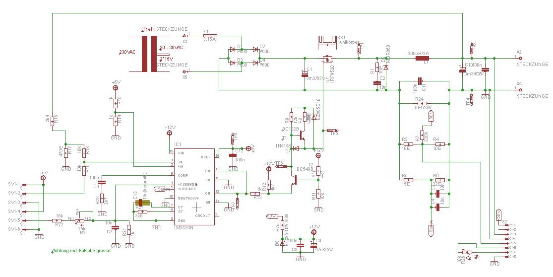 Ungewöhnlich Netzteilschema Galerie - Elektrische Schaltplan-Ideen ...