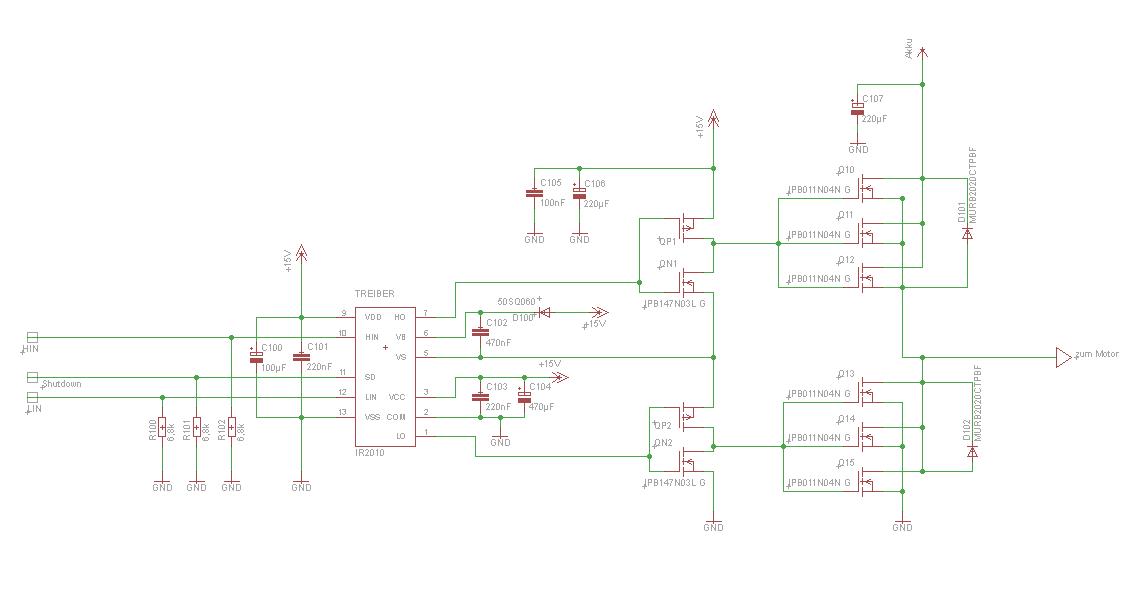 hohe Ströme zu Transistor im TO220 Gehäuse führen - Mikrocontroller.net