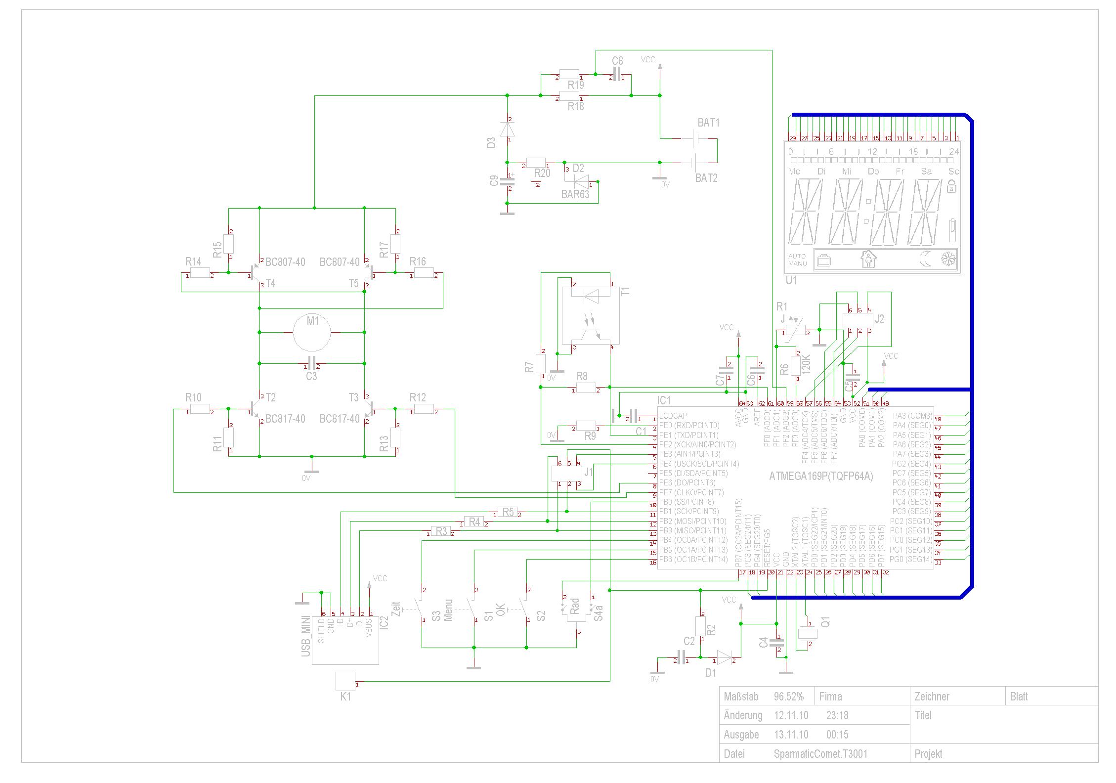 Entwicklungen und Forschung um den Sparmatic Comet / Zero v2 ...