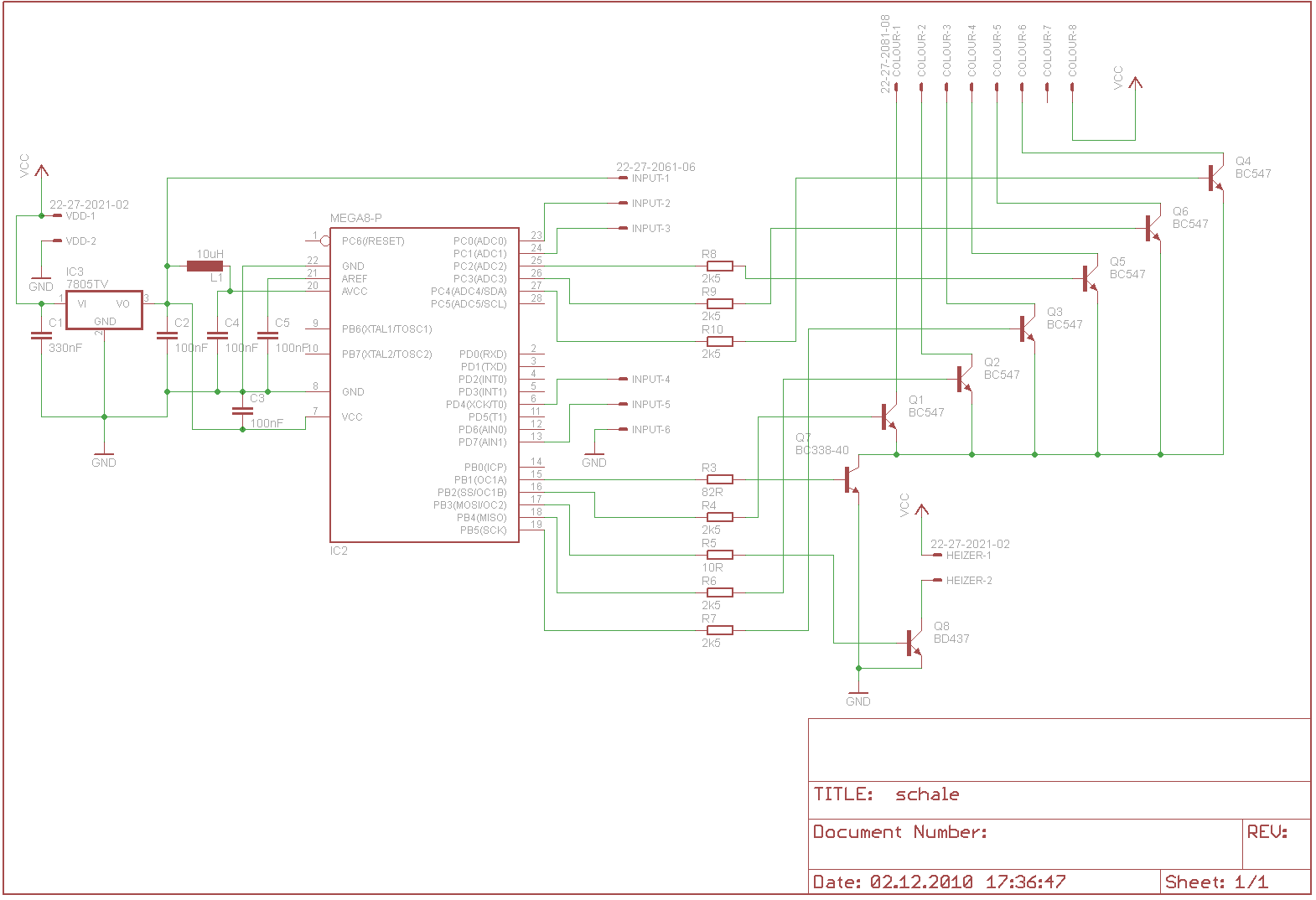 Schaltplan Review (Dekorationsschale) - Mikrocontroller.net