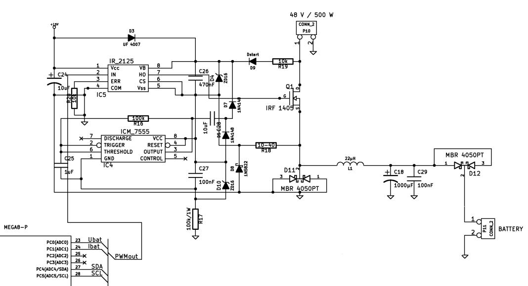 Synchronwandler Mosfet Treiberschaltung Mikrocontroller Net