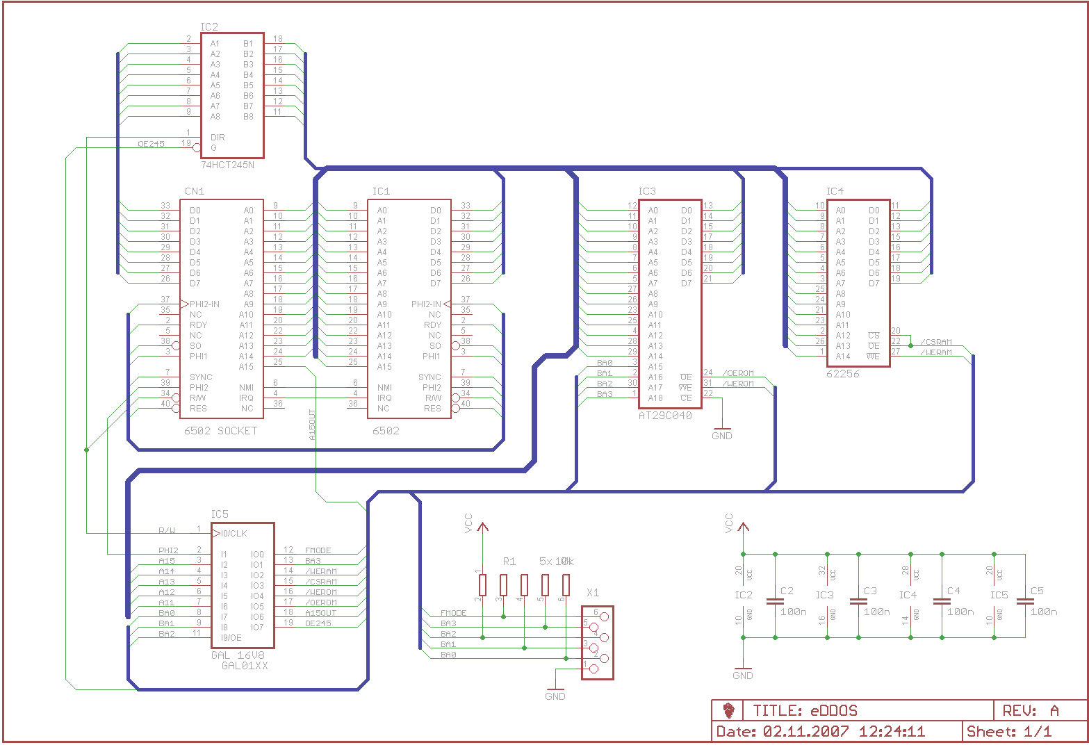 Eagle Anfngerfragen Bus Wiring Diagram Preview Image For Beispiel