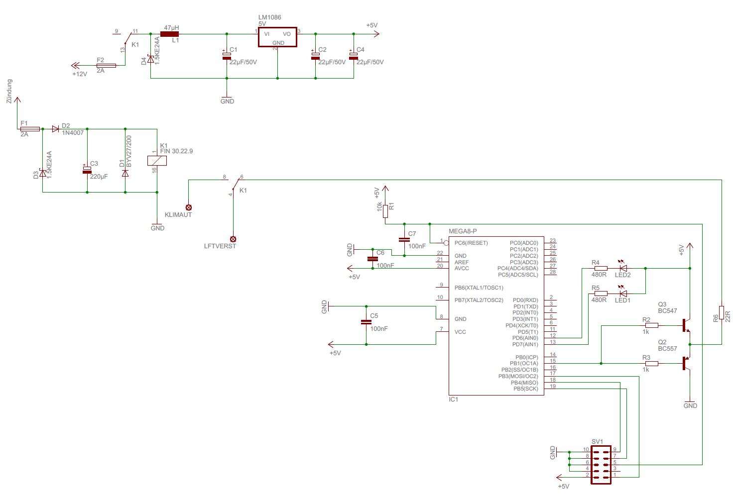Ansteuerung Kfz-Gebläselüfter - Mikrocontroller.net